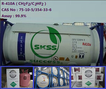 Refrigerant gas R410a made in China
