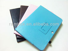 Good Design Book Style Stand Leather Case For Samsung Galaxy Tab3 10.1 P5200