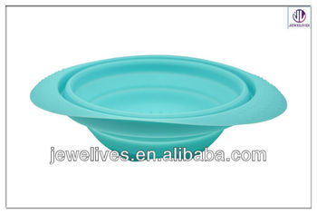 Mini Silicone Collapsible Bowl collapsible Salad bowl
