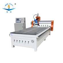 NC-L1325 air cooling spindle ATC cnc router with cnc drills saw