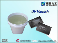 Offset printing no smell water based UV varnish