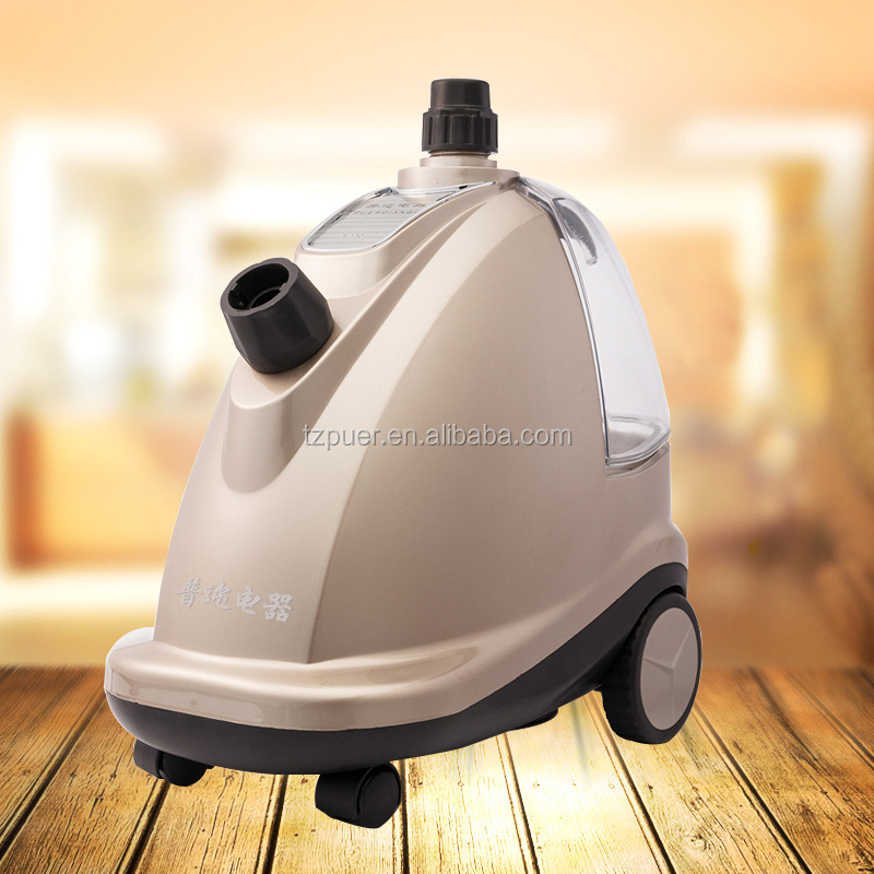 220V household powerful floor standing steam vapor clean fabric care garment sterilizer steamer clothes ironing machine