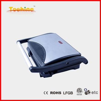 Compact contact grill mini indoor BBQ grill