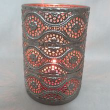 Advantage Price Antique Metal Candle Sleeve Holder