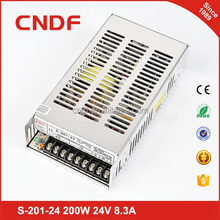 CNDF led power supply for led display light smps 200w 24v 6.3a