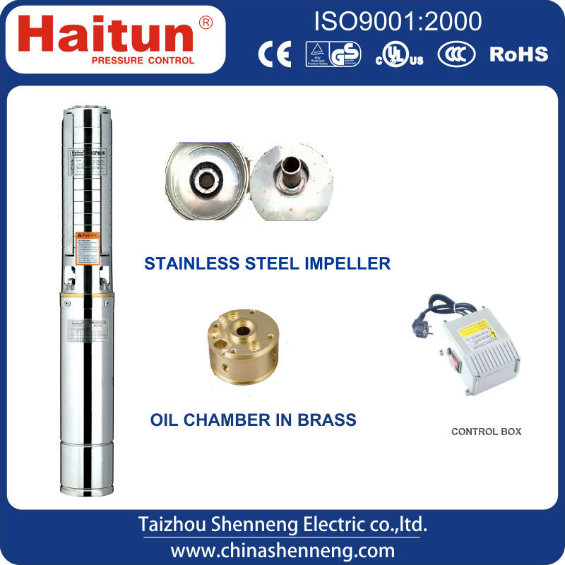 small diameter submersible pump