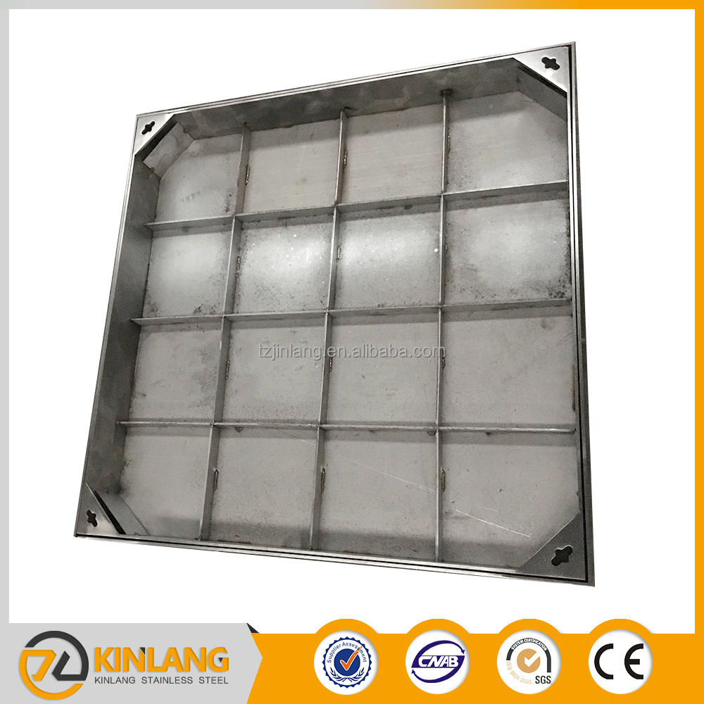 Factory direct high-quality SS stainless steel manhole cover with frame