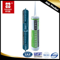 Concrete sealant silicone coloured with silicone sealant cartridge
