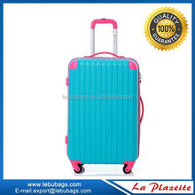 US flag printed ABS PC Luggage/Trolley case