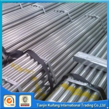ASTM A500 Hot dipped galvanized steel pipe end of threaded and coupling