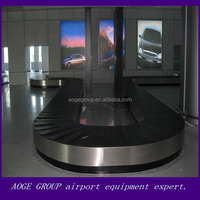 stainless steel cargos baggage turntable handling system