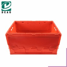 Plastic Foldable Solid Vegetable/fruit Milk Crate Bin