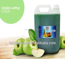 Green Apple Concentrated Syrup Fruit Juice