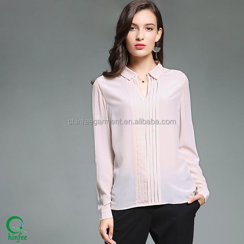 New Model Blouse Design For Women Office Blouse Sample