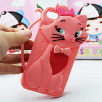 Cute Tom Cat Cartoon Silicone Case for Iphone 4/ 4S