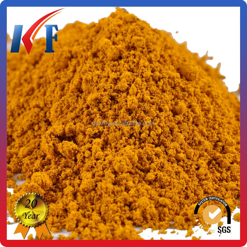 (fe2o3) iron oxide yellow for car paint
