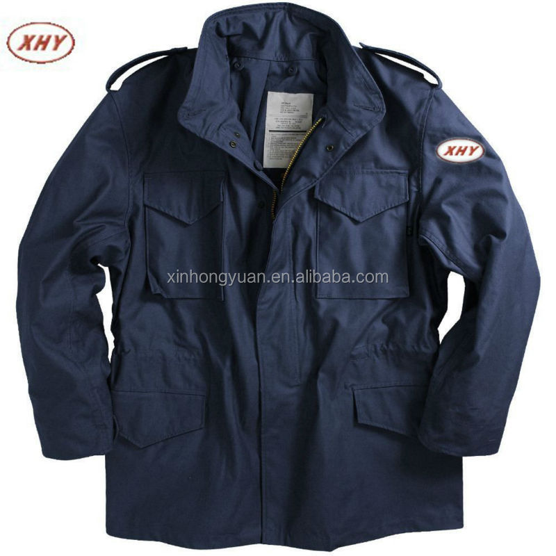 black m65 jacket/ navy blue m65 jacket
