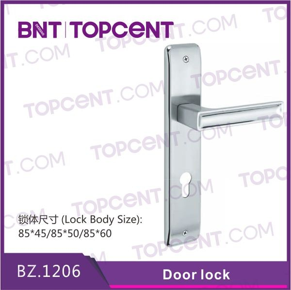 [BZ.4251] China factory wholesale door lock handle anti-rust anti-theft lock set