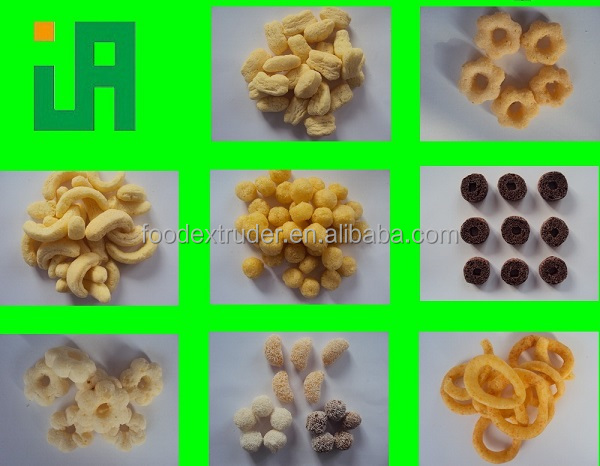 Soya Bean Snack Food Extruder Machine
