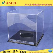 clear arcylic boxing glove display case /fashion acrylic boxes