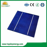 156*156mm Size and Polycrystalline Silicon Material cheap sale 6 inch 2BB poly solar cell