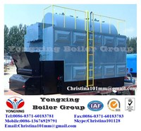 industrial coal/biomass/palm kernel shell fuel steam boiler water fire tube sing drum boiler for power plant