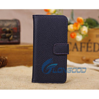 Flip genuine Leather Wallet Case with Card Holder Cover for iPhone 5C