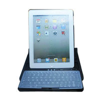 notebook case with bluetooth keyboard for ipad 3,for ipad new case