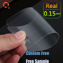 FREE CUSTOM 2.5D 3D 5D Full Cover 0.15mm 0.33mm 0.4mm Mobile Phone Tempered Glass Screen Protector For Iphone 6 7 8 X Plus SE2