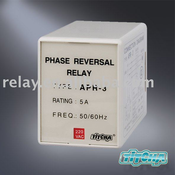 phase sequence phase failure protection relay APR-3(JVM-1)