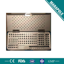 instrument sterilization box, instrument tray, instruments surgical orthopedics