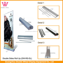 Fabric Roll Up Stand, Display Make Up Stand,Pull Up Advertising Banner Stand