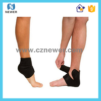 Trendy hot sell neoprene elastic boots sibote sports ankle support