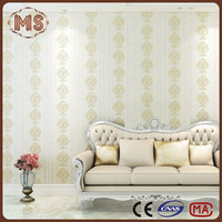 3d effect pvc wallpaper/fireproof wallpaper/pvc wallcovering