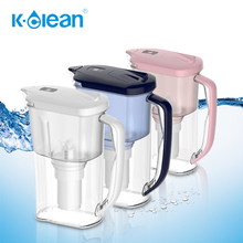 Chlorine free directly drinking alkaline water filter jug with negative ORP