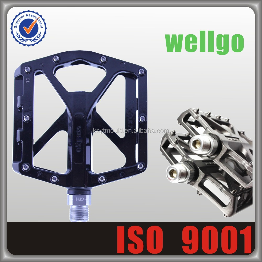 Original Wellgo Taiwan Cheap Alloy Bicycle Pedals