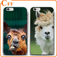 Coque Animal Llama Funny Ugly Face Lama TPU Skin for iPhone 5 6 7 Plus Phone Mobile Case Cover Funda Gel