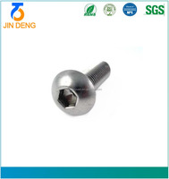 China Professional Screw Machine Manufacturing High Precision Quality Stainless Steel Hex Socket Head Cap Machine Screw