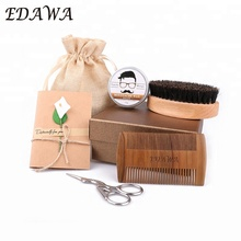 Popular gift set private label grooming beard kit for men