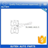 brake pads for japanese auto parts GDB773 KK150-33-28Z