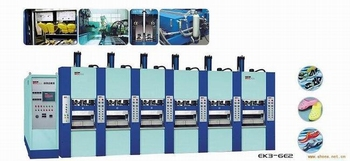 EVA Injection Moulding Machine 6 stations