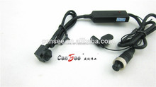 Car Video Camera Sony CCD Din Jack Connector Pinhole Snake 700tvl Mini Hidden DVR Vehicle Camera