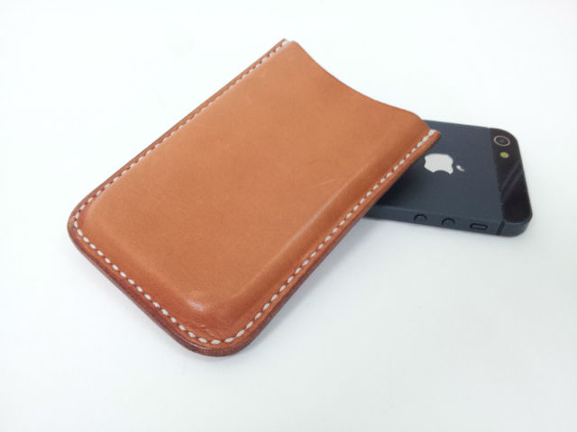 Handmade Hard Leather Phone Case for iPhone & Samsung
