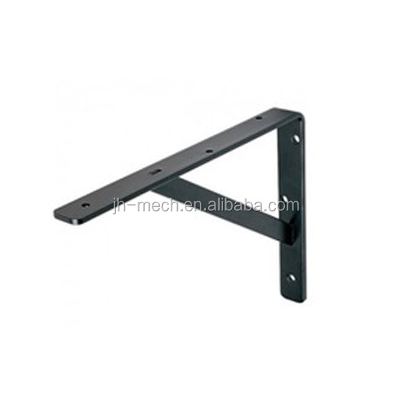 OEM wrought angle iron bracket for shelf