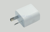 5V2100mA Mini Australia Plug USB Wall Travel AC Power Adapter Charger for apple ipod touch iphone 4 4s MP3 MP4 MP5
