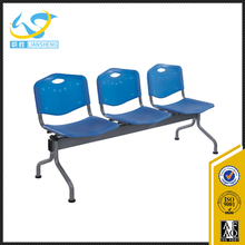 Cheap price airport beauty salon student plastic waiting chair