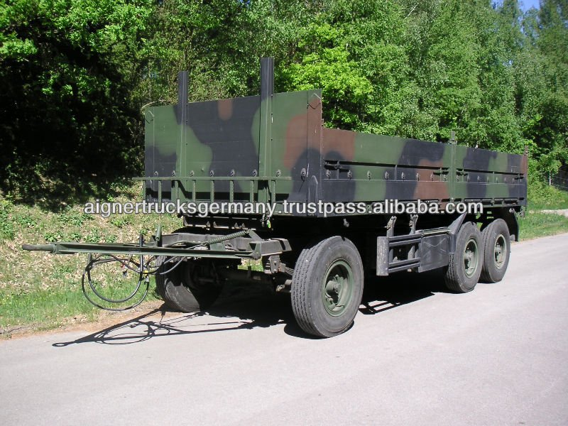 Schmitz 3 axle Military Army Trailer