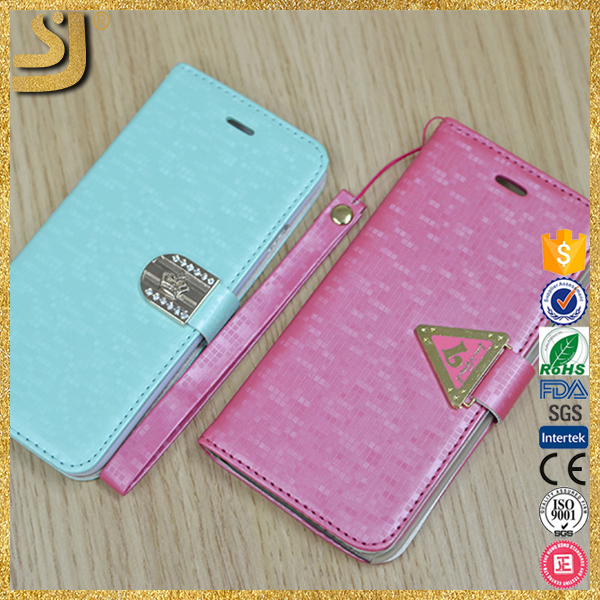Fabric cover cell phone for iphone6, fabric leather for mobile phone case