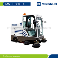 P100A Street sweepers for housing estate and factory Hand push sweeper hand push road sweeper hand held sweeper