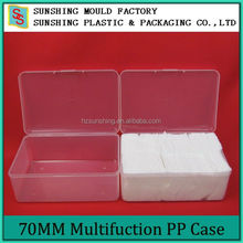 Plastic Make Up Cotton Box Cosmetic Gife Container Facial Cotton Storage Box